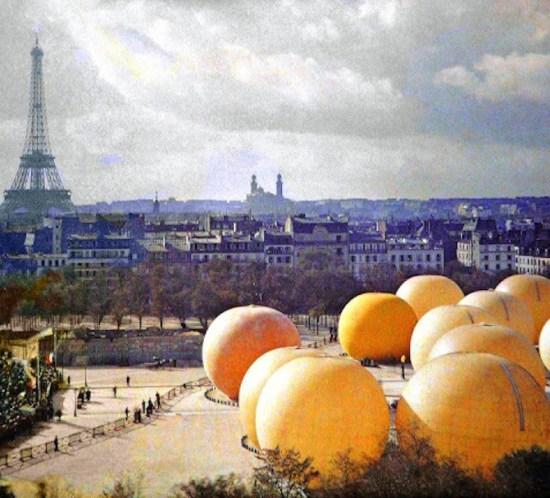 Paris gonflable