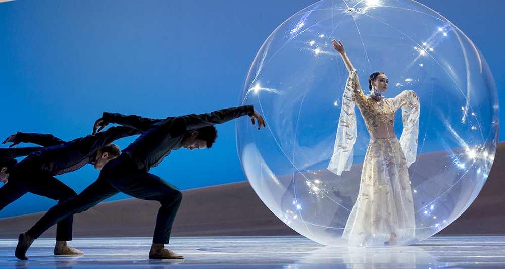 Bulle gonflable danseur - Ballet de Monte Carlo2