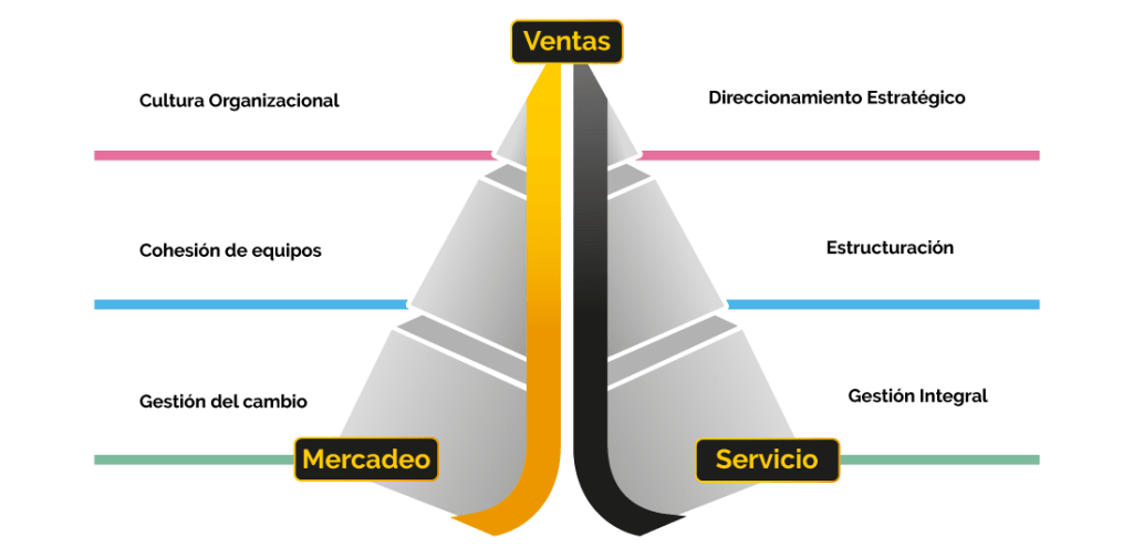 Modelo de transformación comercial