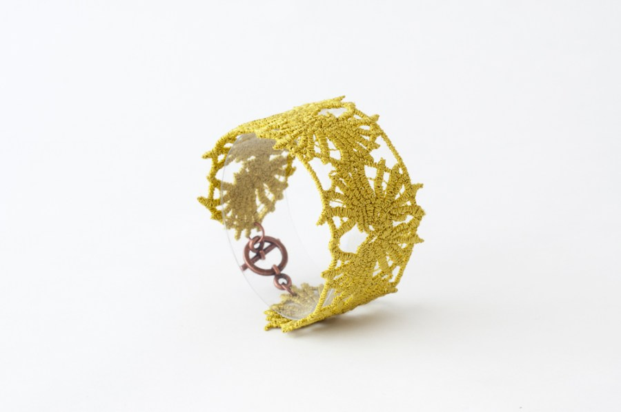DH Lawrence lace bracelet