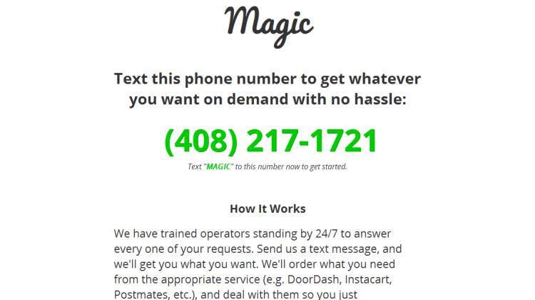 magic service