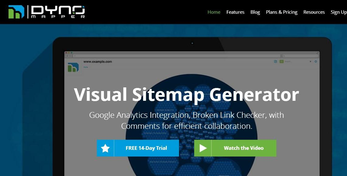 dynomapper com a visual sitemap generator jcount com