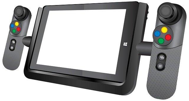 kids tablet game pad