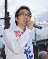 のだて稔史さん・区議候補(29)=新