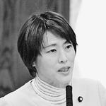 質問する田村智子議員=23日、参院内閣委