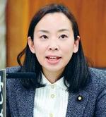発言する吉良よし子議員=16日、参院憲法審査会