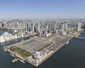東京2020オリンピック・パラリンピックの選手村に予定されている中央区晴海の用地