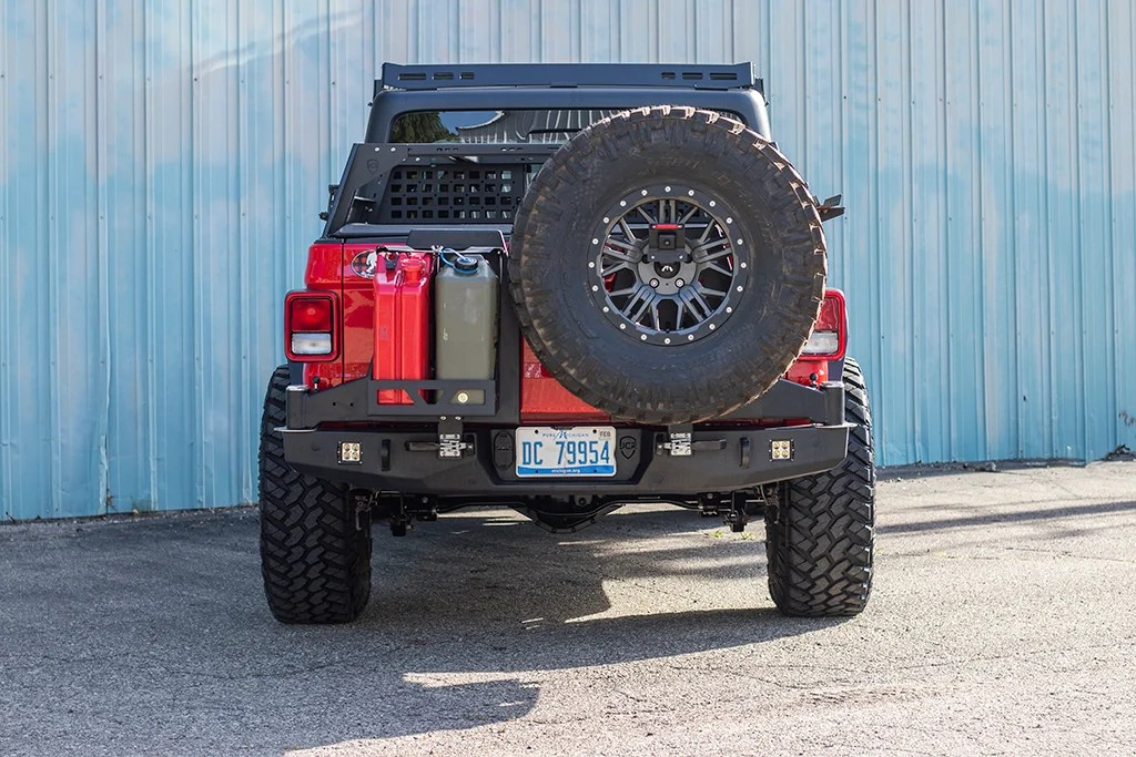 jt rear bumper vanguard jeep gladiator 2020