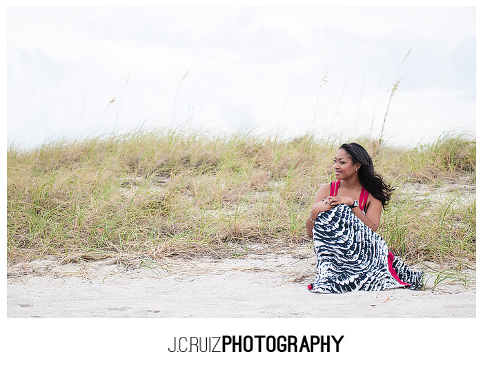 miami beach portrait session