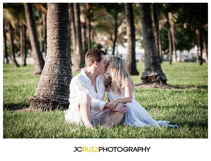 South Beach Engagement - JC Ruiz Photography