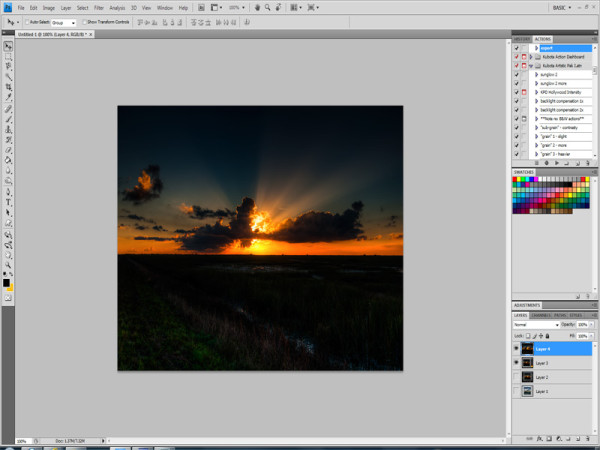 Adobe Photoshop Screenshot - JC Ruiz Photography