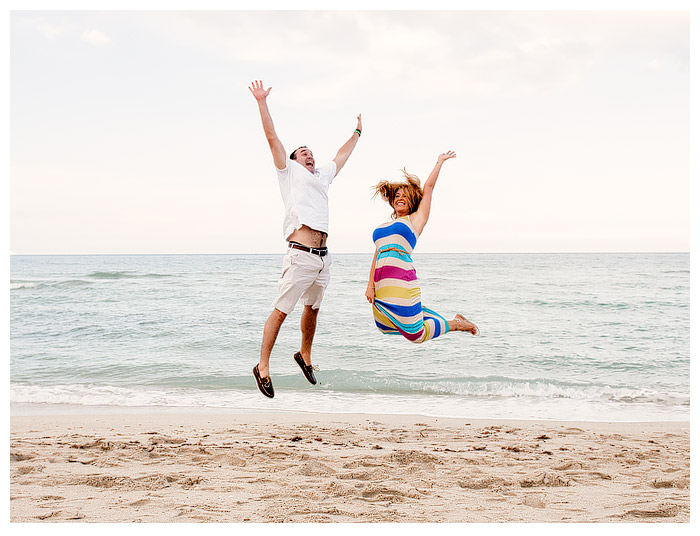 A North Miami Beach Engagement Shoot