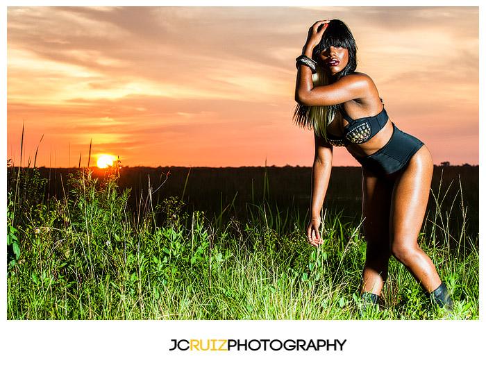 Camille Kaye Everglades Photo Shoot
