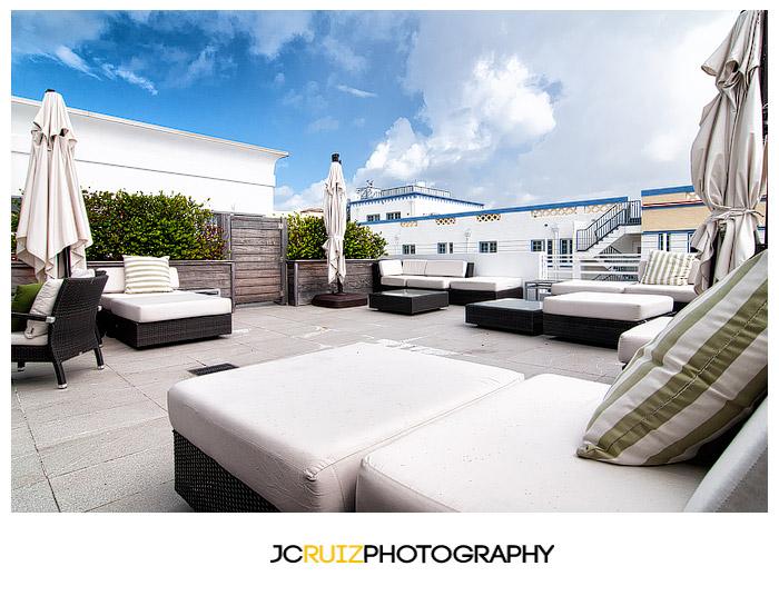 Breakwater Hotel patio