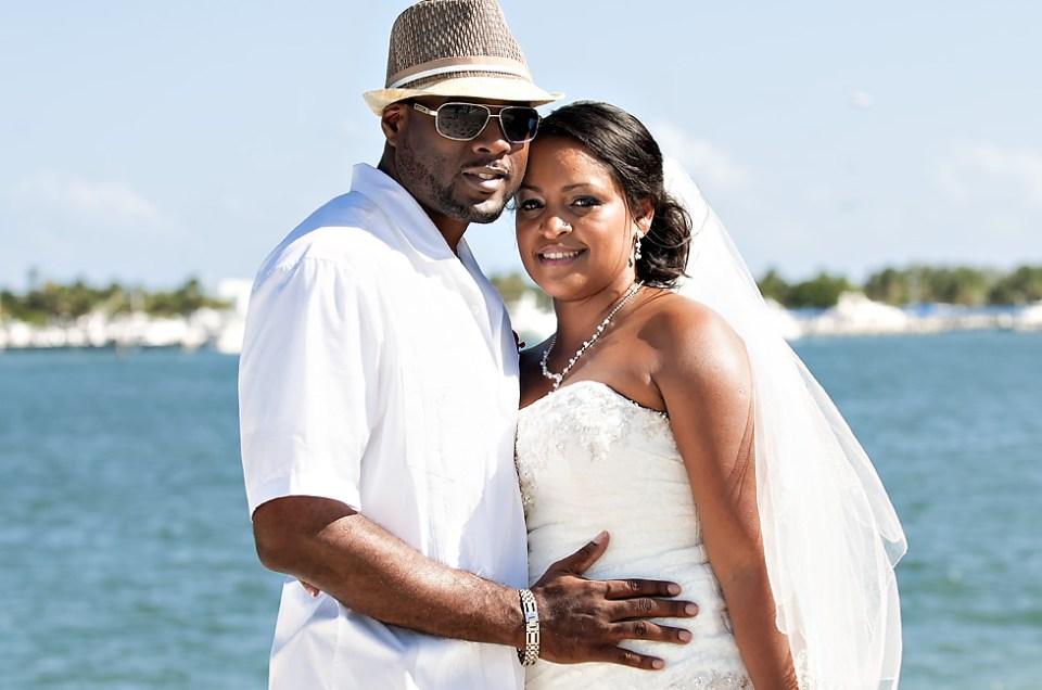 Oleta River State Park Beach Wedding