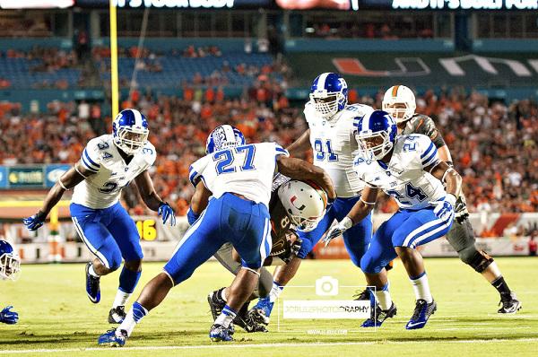 Duke Johnson rushes for a touchdown