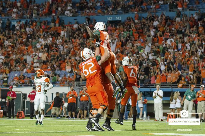 Phillip Dorsett celebrates a touchdown
