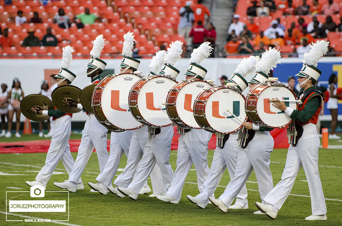 Miami Hurricanes Marching Band