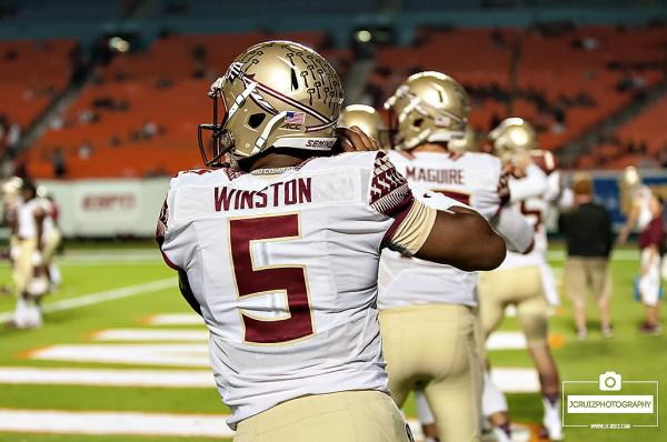 Florida State QB #5, Jameis Winston