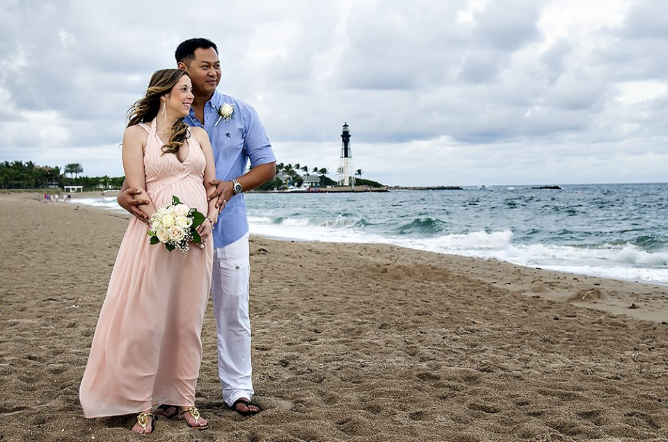 New Year's Day Fort Lauderdale Beach Wedding