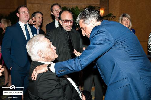 Tony Fiorentino speaks with legendary coach Don Shula