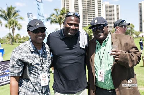 The Sports Brothers with Miami Hurricanes great Bennie Blades