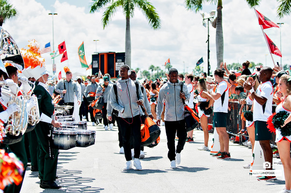 Miami Hurricane Walk