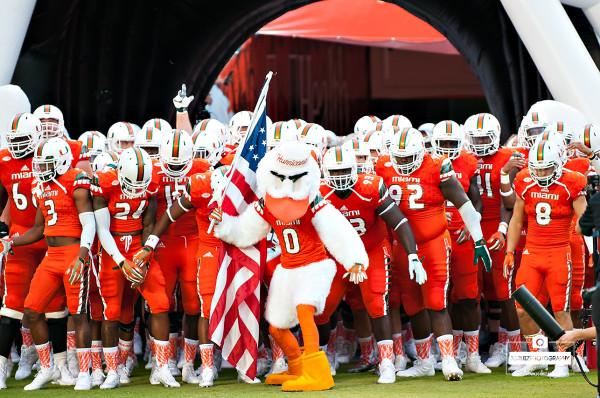 Miami hurricanes football team