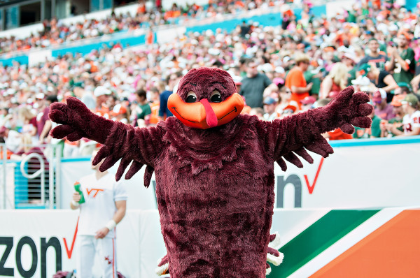 Virginia Tech's mascot