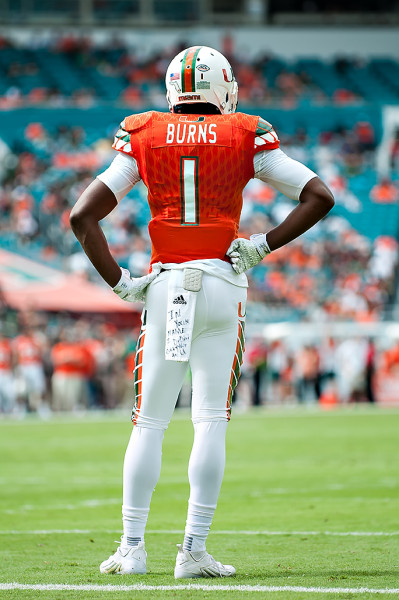Hurricanes CB, Artie Burns