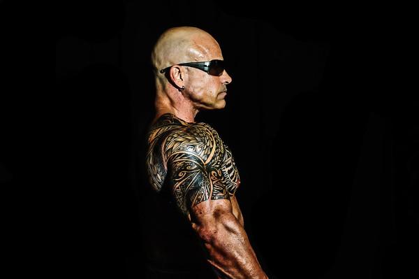 bodybuilding photoshoot