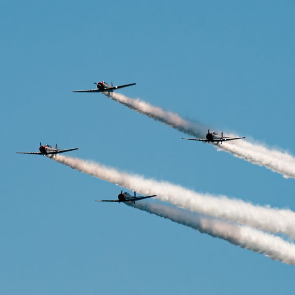 geico skytypers in formation