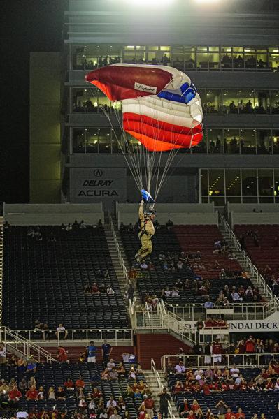 SEAL parachute team