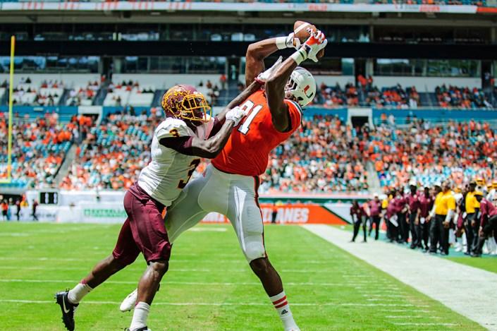 Darrell Langham touchdown
