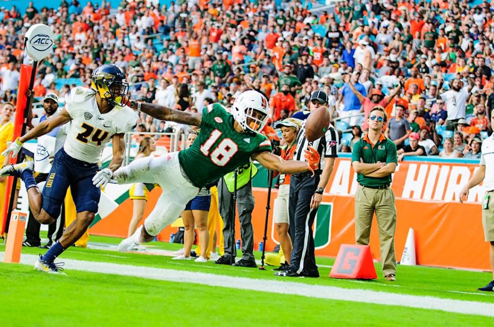 Miami Hurricanes vs. Toledo – Game Photos