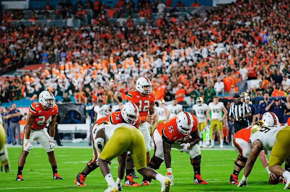Miami Mercilessly Embarrassed Notre Dame