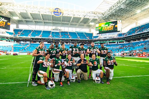 Miami Hurricane Seniors