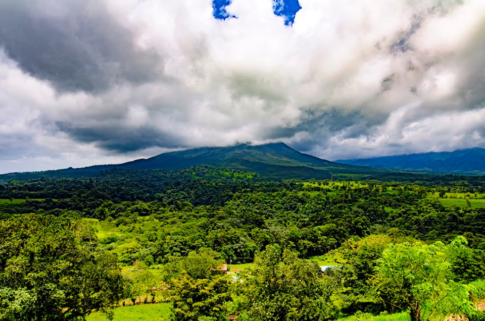 Exploring the Arenal Volcano in Costa Rica