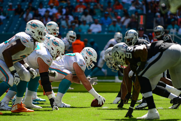 Miami Dolphins offensive line
