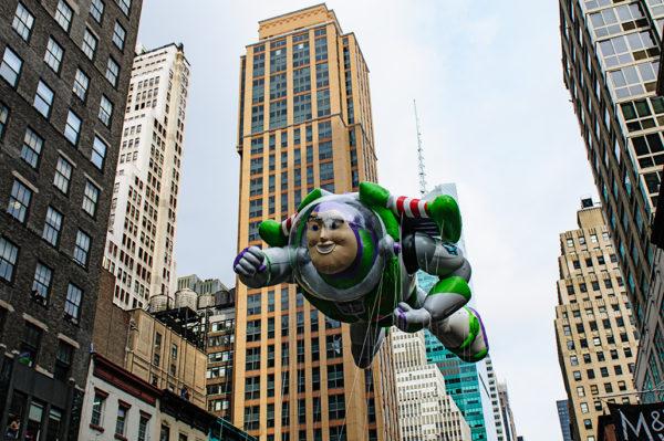 Buzz Lightyear Macys thanksgiving day parade float