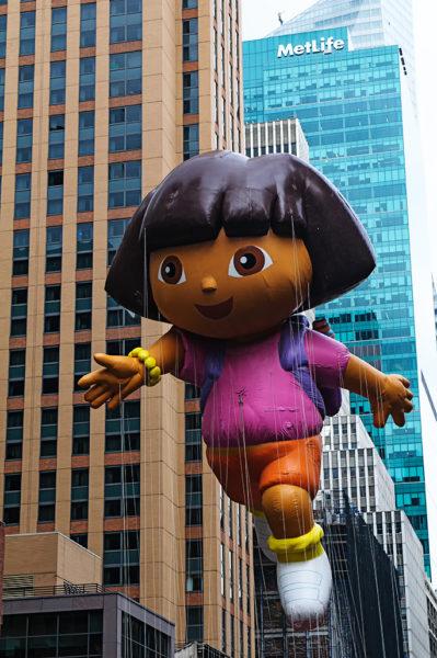 Dora the Explorer float