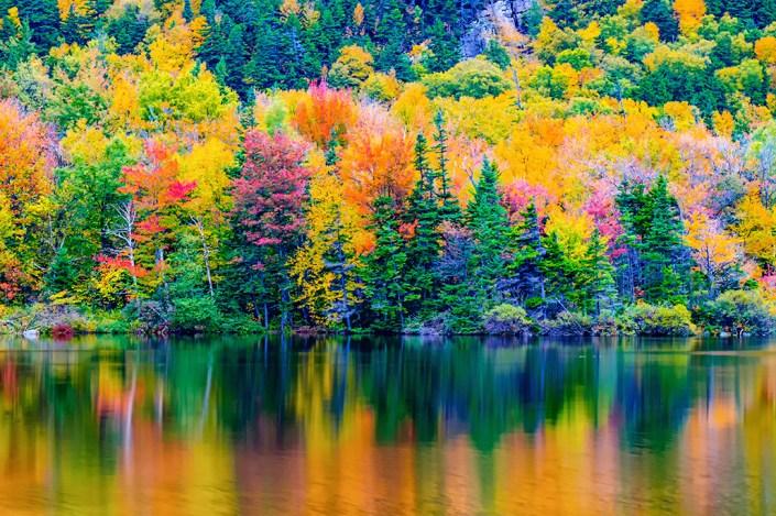 Echo Lake Franconia Notch