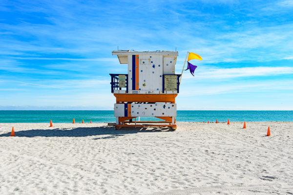 17th street lifeguard station, Miami Beach