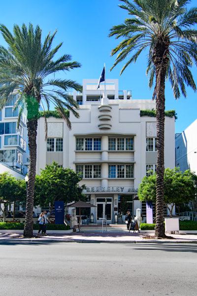 Berkley Hotel, Miami Beach