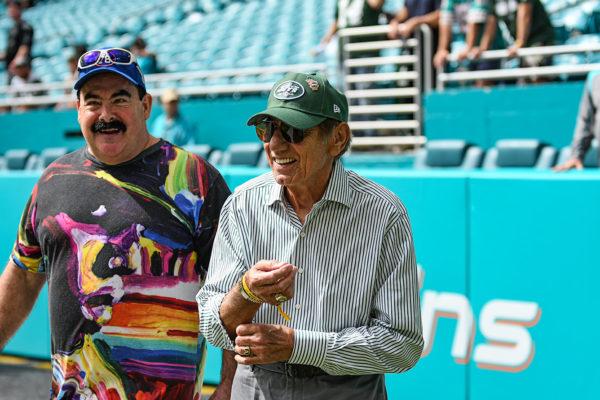New York Jets legend, Joe Namath