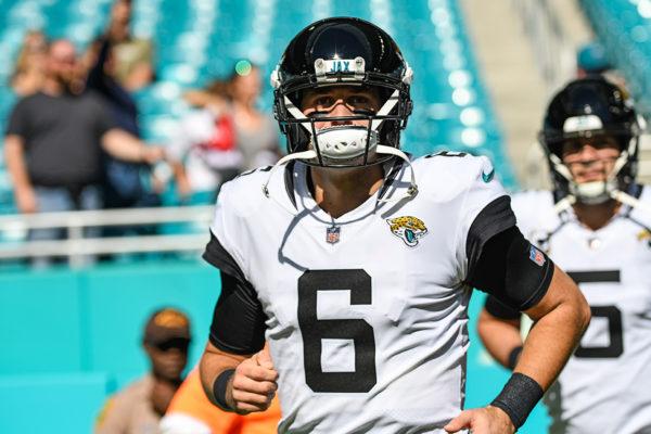 Jacksonville Jaguars quarterback Cody Kessler (6)