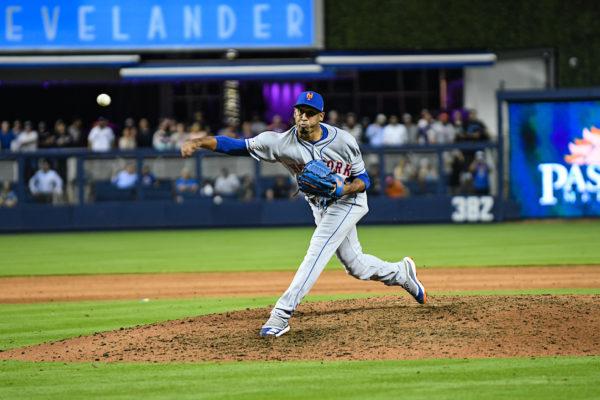 New York Mets relief pitcher Edwin Diaz #39