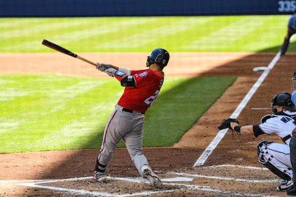 Washington Nationals catcher Kurt Suzuki #28