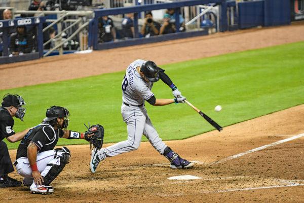 Colorado Rockies third baseman Nolan Arenado #28
