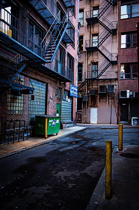 Boston alley